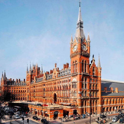 St Pancras Station and Hotel