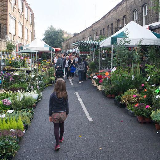 Columbia Road Flower Market & Shops
