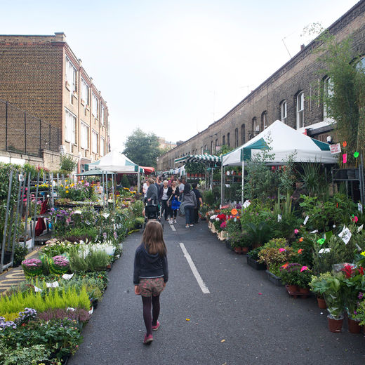 Columbia Road Flower Market and Shops