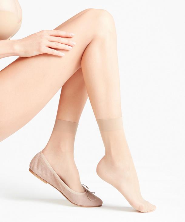 Seidenglatt 15 DEN Socken