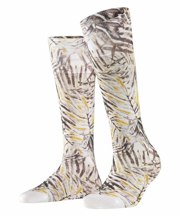 FALKE Greenhouse Herren Socken, 45-46, Weiß, Motiv, Baumwolle, 12411-211006