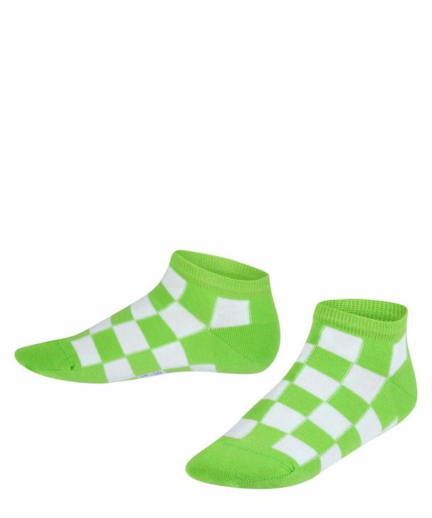 Chequerboard Kids Sneaker Socks | FALKE