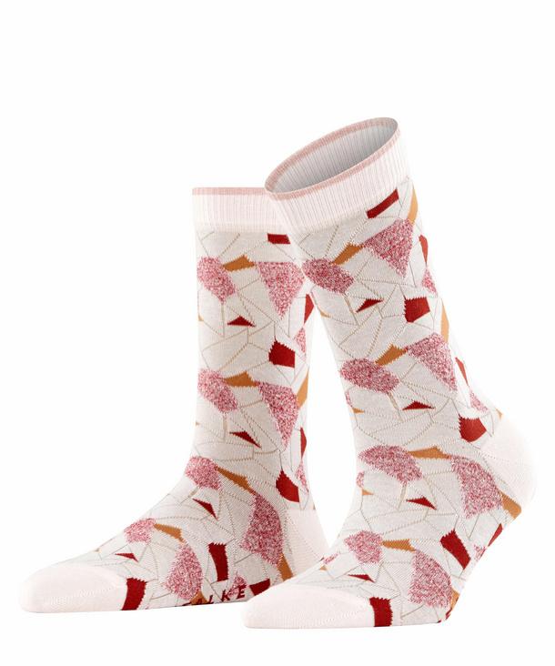 FALKE Scraps Damen Socken, 37-38, Rosa, Baumwolle, 46341-824601