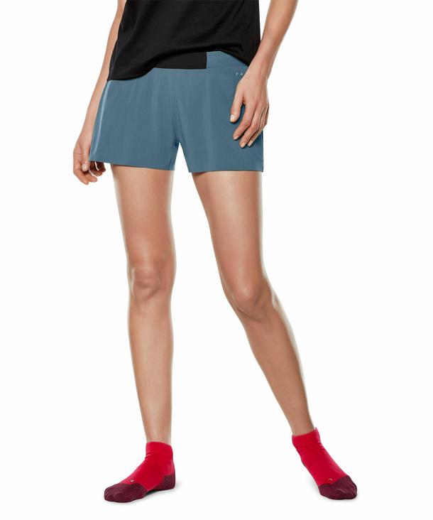 FALKE Damen Shorts, XXS, Blau, Uni, 65038-644300