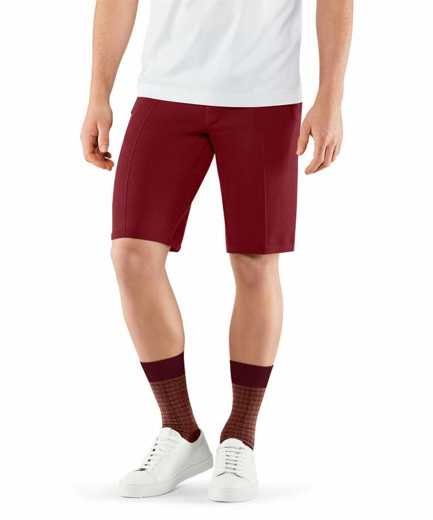 FALKE Herren Shorts, XL, Rot, Uni, Baumwolle, 60050-831805