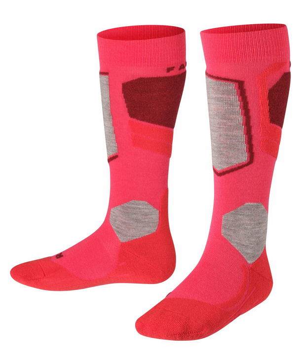 FALKE ESS Women SK2 Ski Knee-High Socks Wool Blend Warm Padded US sizes 5 to 10.6