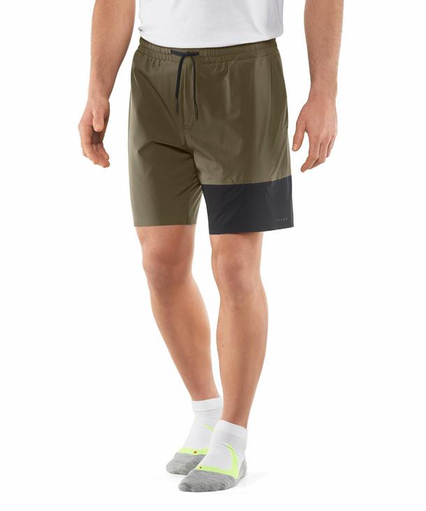 FALKE Herren Shorts, S, Grün, Uni, 61022-783201