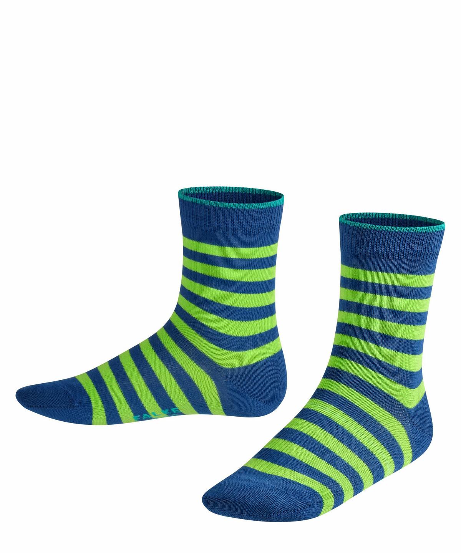 39-42 Light Grey Falso #Falke Kids Pencil Stripe Socks