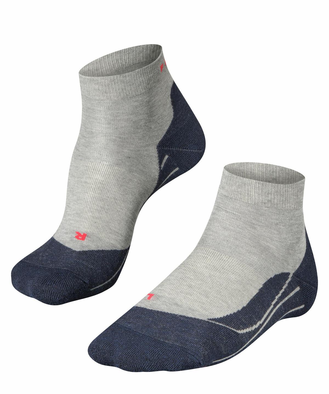 Black-Mix 3010 FALKE mens RU4 Running Socks US 9-10 Cotton Blend EU 42-43 /Ι UK 8-9 1 Pair Black
